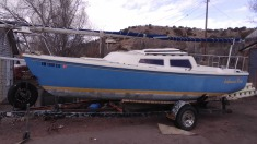 1979 Catalina Sale Boat - Blue