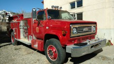 1984 Chevrolet Fire Truck - Red