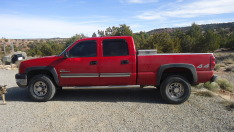 2004 Chevrolet Silverado 2500HD Diesel   - Red