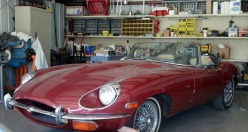 1969 Jaguar XKE - Red