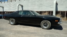 1974 Plymouth Road Runner - Black