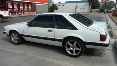 1990 Ford Mustang - White