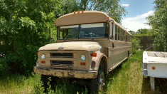 1986 Chevrolet School bus - Tan
