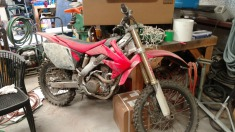 2005 Honda Cr250f - Red