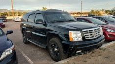 2002 Cadillac Escalade - Black