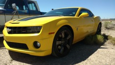 2013 Chevrolet Camaro - Yellow
