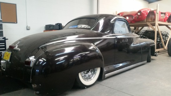 1947 Dodge Business Coupe - Maroon