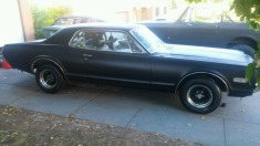 1968 Mercury Cougar - Black
