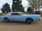 1972 Ford Thunderbird - Blue