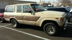 1986 Toyota Land cruiser - Tan