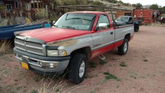 1998 Dodge 1500 - Red
