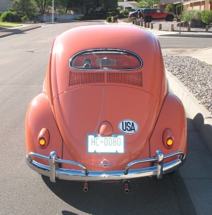 1956 Volkswagen  - Red
